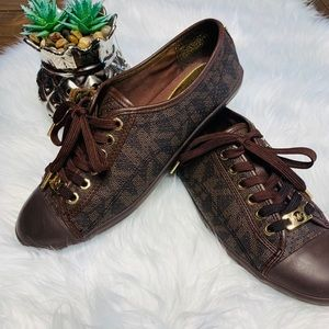 Michael Kors Brown Sneakers